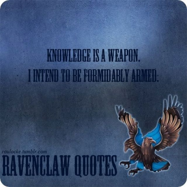 Harry Potter Friendship Wallpaper Quotes: Ravenclaw Quote - Harry Potter