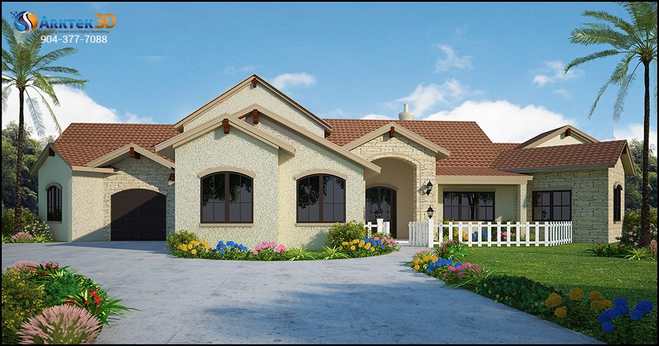 Home Design 3d 3d Home Design Rendering Pinterest 3d 3d