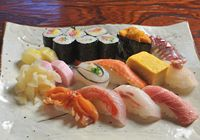 Hakone offers a wealth of fresh seafood, perfect for skillfully made sushi. (Cooperation: Yamahiko-zushi)
