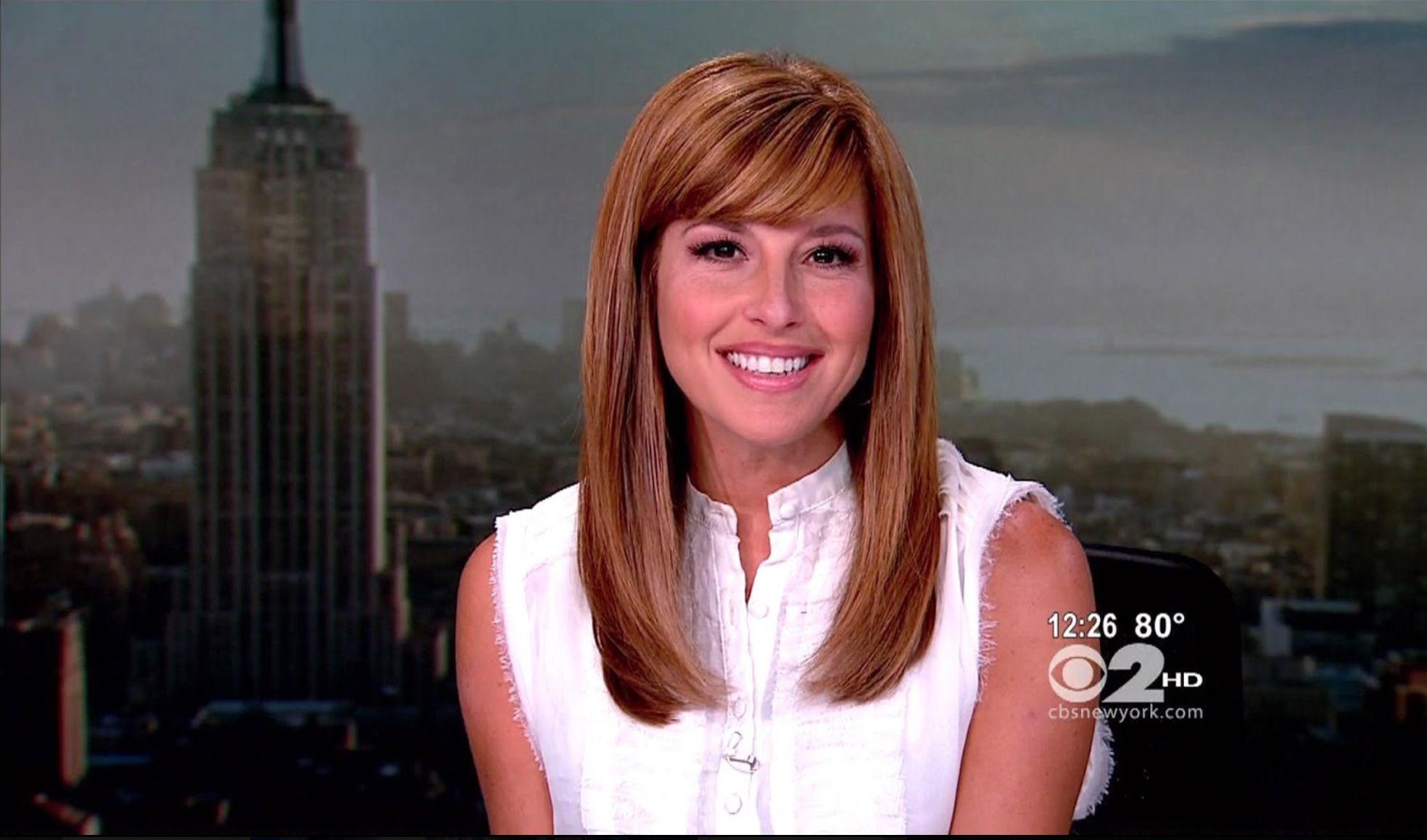 Mary Calvy  CBS New York | News anchors beauty & More