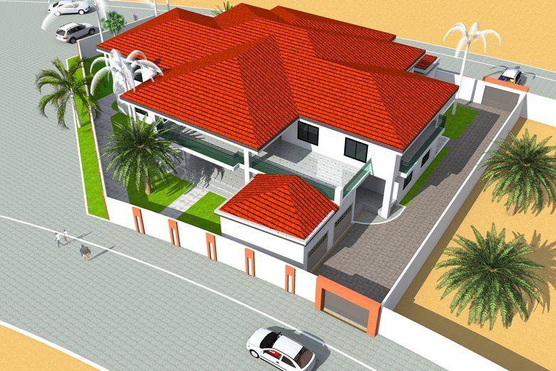 Project De Construction D Une Villa A Douala Architecture Et