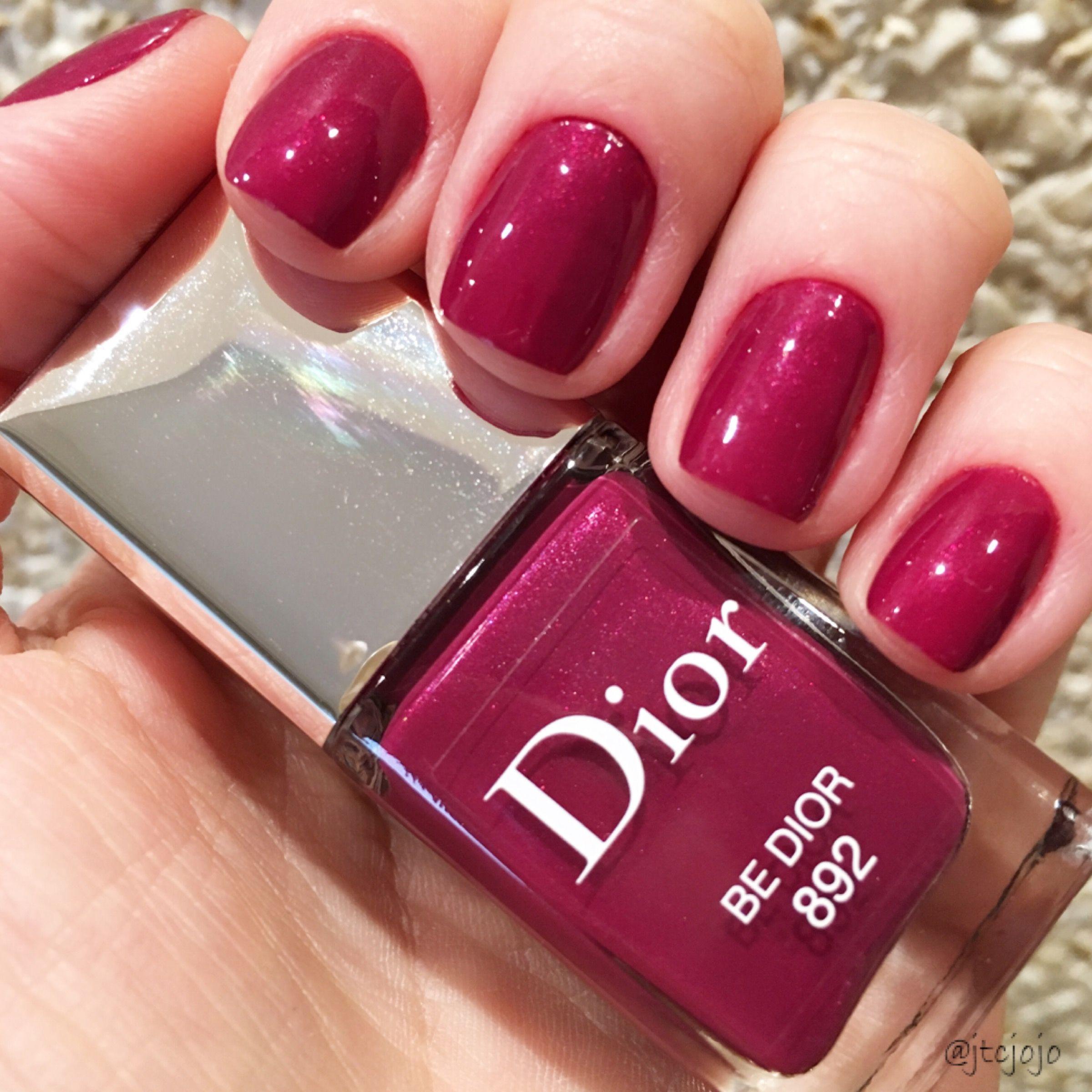 Be Dior (892) - Dior | ディオール マニキュア | Pinterest | Esmalte