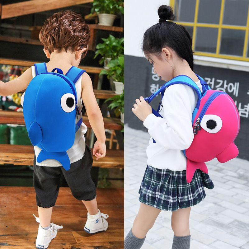 Kindergarten Children Casual School Backpack 2-8 Years old Kids Boys Girls  Student Cute 3D 179722520374