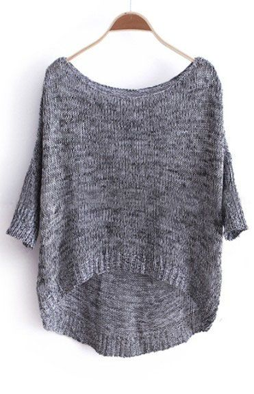 {3/4 sleeve oversized sweater} pull on over tank top + leggings + go! I need about a dozen!