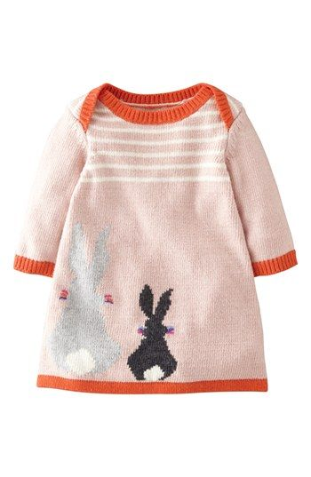 Mini boden 39 my baby 39 intarsia sweater dress baby girls for Shop mini boden