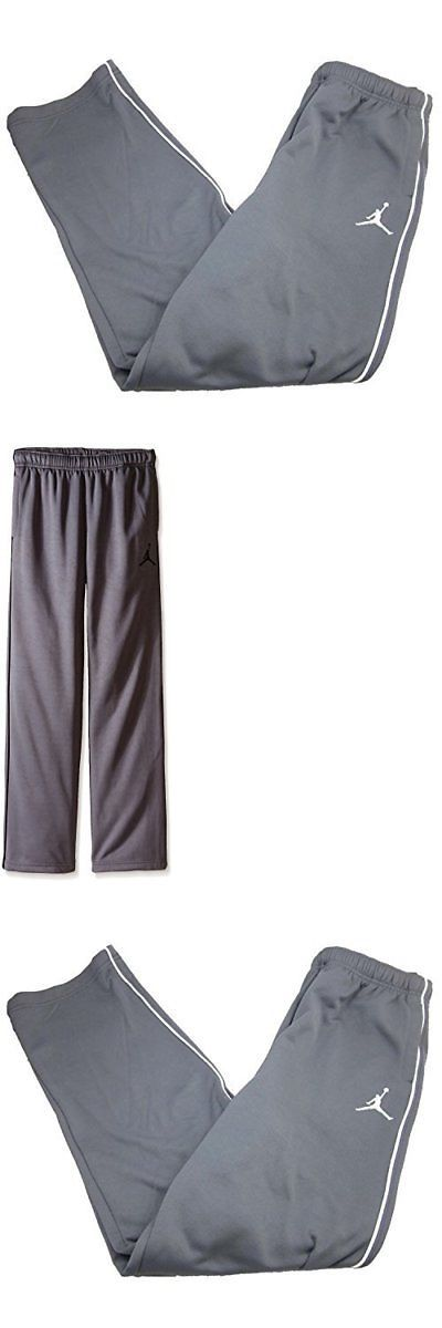 112e78a6cabf Boys Clothing Sizes 4 and Up 11452  Boys Youth Nike Air Jordan Therma Fit  Track Pants (Large Grey White) -  BUY IT NOW ONLY   16.99 on  eBay  clothing  ...