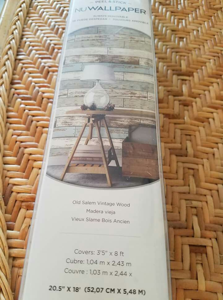 Peel and stick wallpaper. Available at JoAnn Fabrics, Home ...
