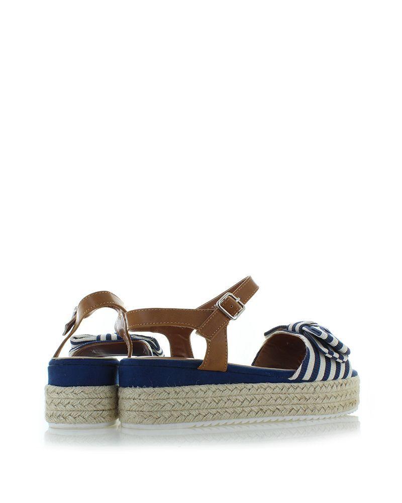 bf15e4120 Modro-biele platformové sandále Susanna Espadrilles, Topánky, Móda, Sandále