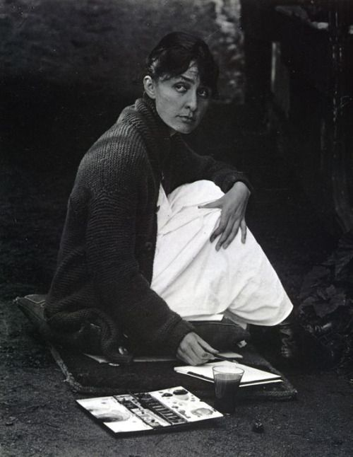 """""""I've been absolutely terrified every moment of my life - and I've never let it keep me from doing a single thing I wanted to do."""" Georgia O'Keeffe"""
