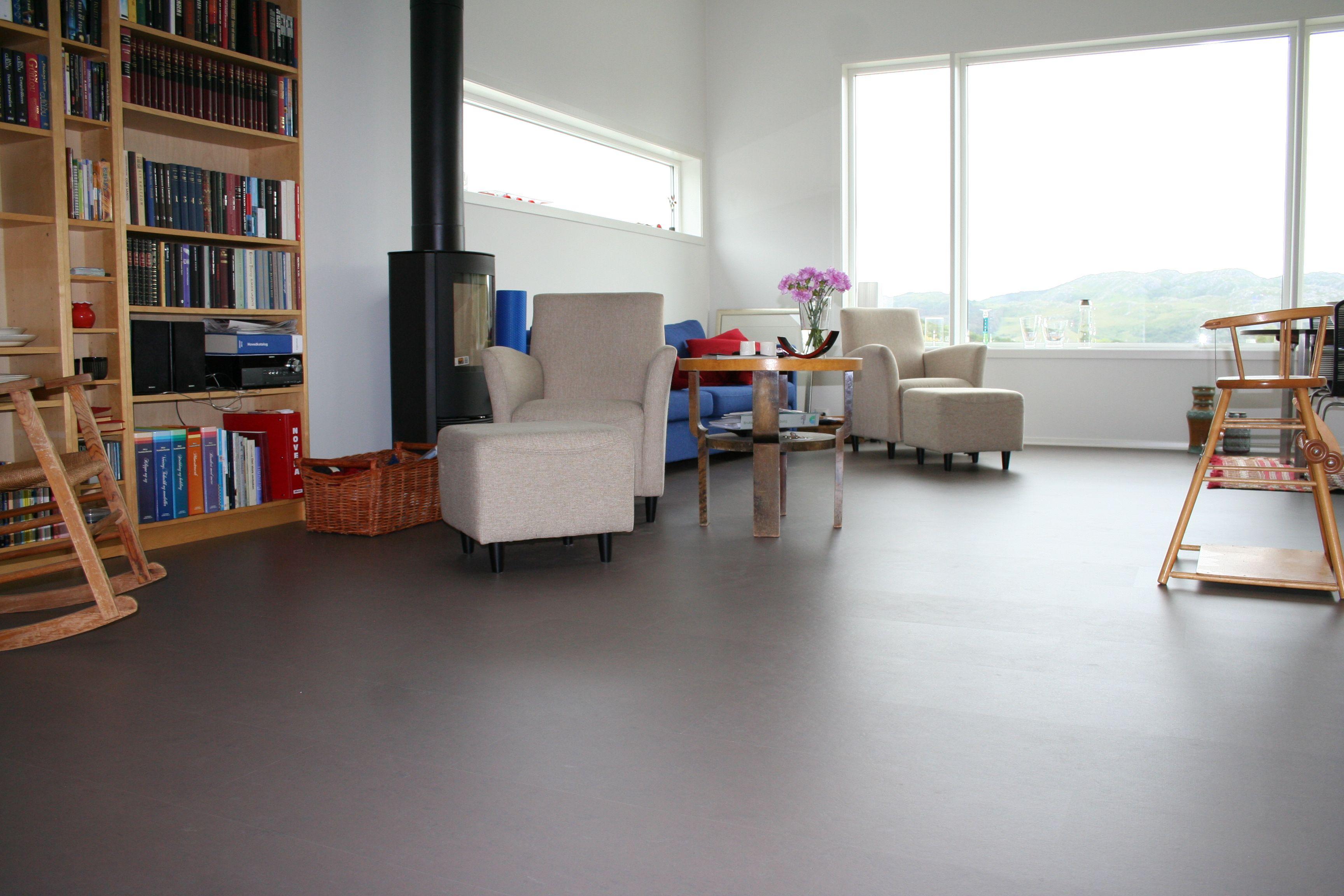 Marmoleum Click Private House Aalgard Norway House Flooring Loft Bed