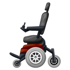 Motorized Wheelchair Emoji Wheelchair Motor Emoji