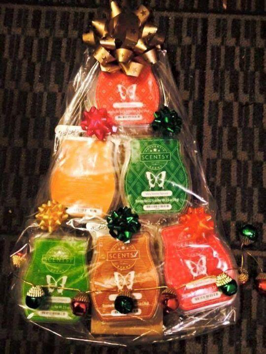 scentsy bar gift baskets