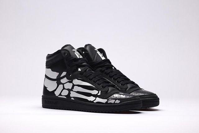 Adidas TOP TEN HI Black White Skeleton Men Sneakers Shoes