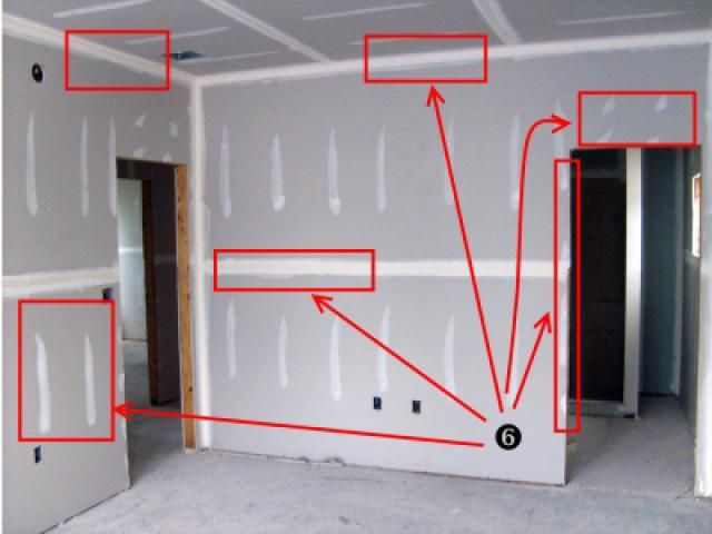 check this easy visual drywall layout guide before your next project drywall peter griffin. Black Bedroom Furniture Sets. Home Design Ideas