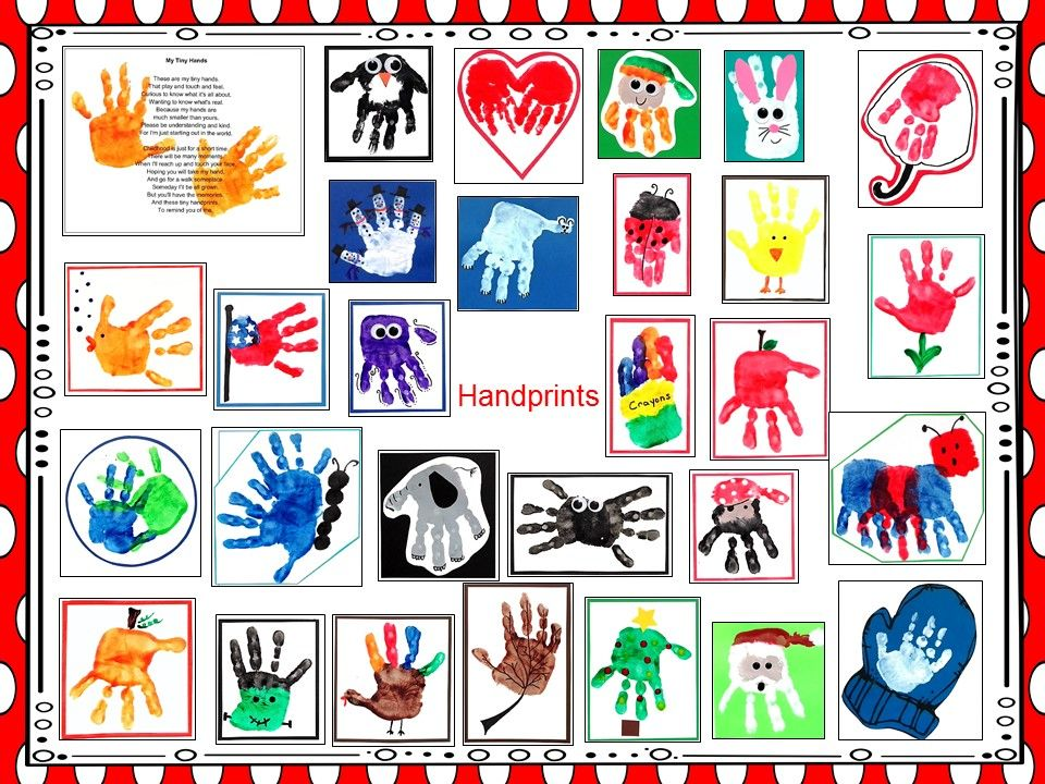 I have added a 2018 handprint calendar to 1 2 3 Learn
