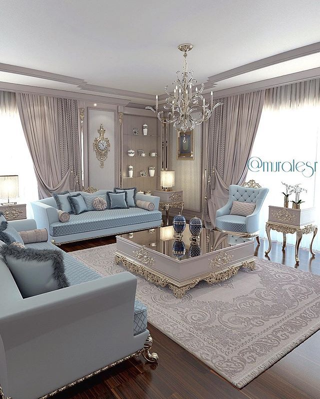 Beautifully Decorated Sitting Room For The Family Person Living
