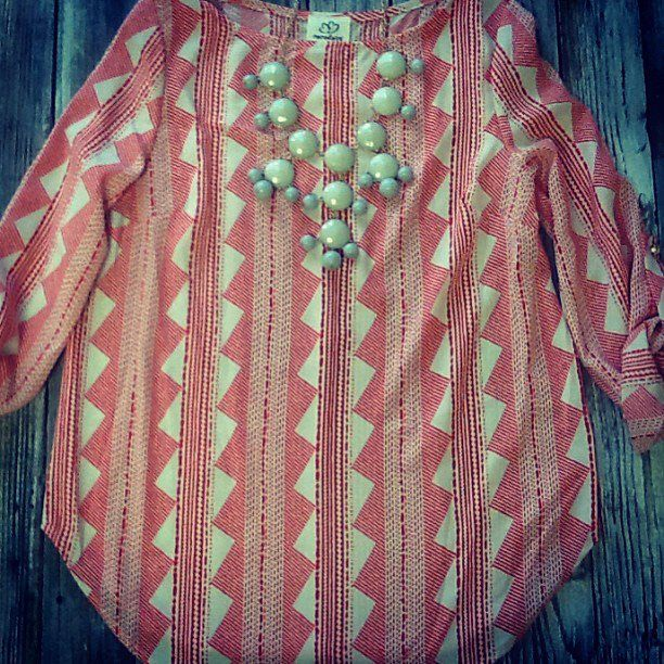 How cute is this little top?!! $34.95!
