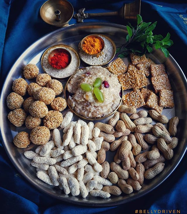 The Makar Sankranti Thali This Thali Is Special It Is