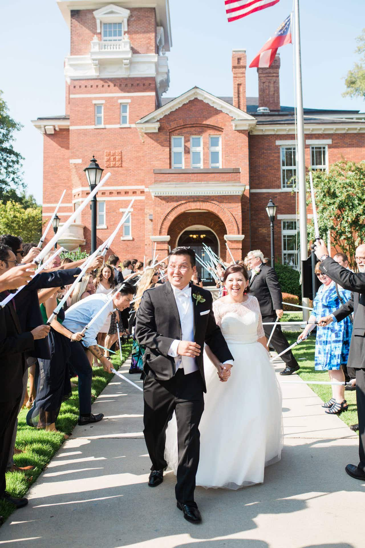 A Romantic Ceremony at Historic Courthouse