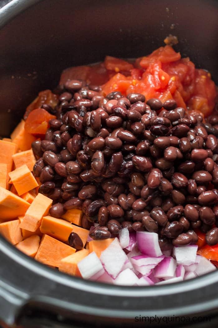 Vegan Chili Recipe Sweet Potato