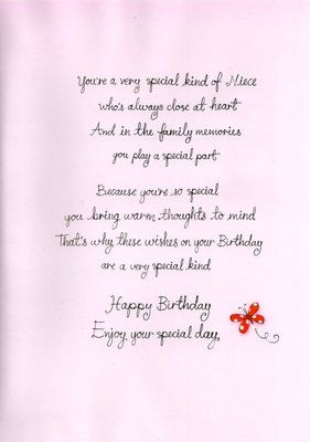 Birthday Wishes For Niece Poems : birthday, wishes, niece, poems, Birthday, Verse, Niece, Google, Search, Verses, Cards,, Verses,, Daughter