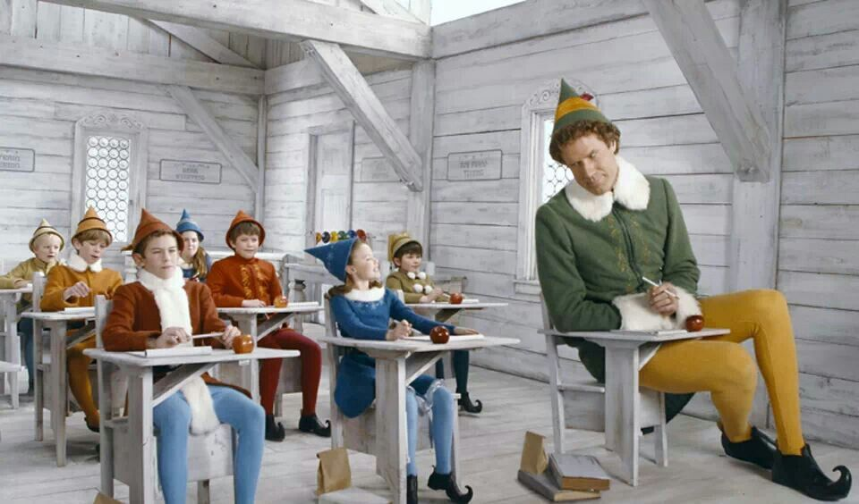 Buddy In Elf Class Buddy The Elf Pinterest Christmas Movies