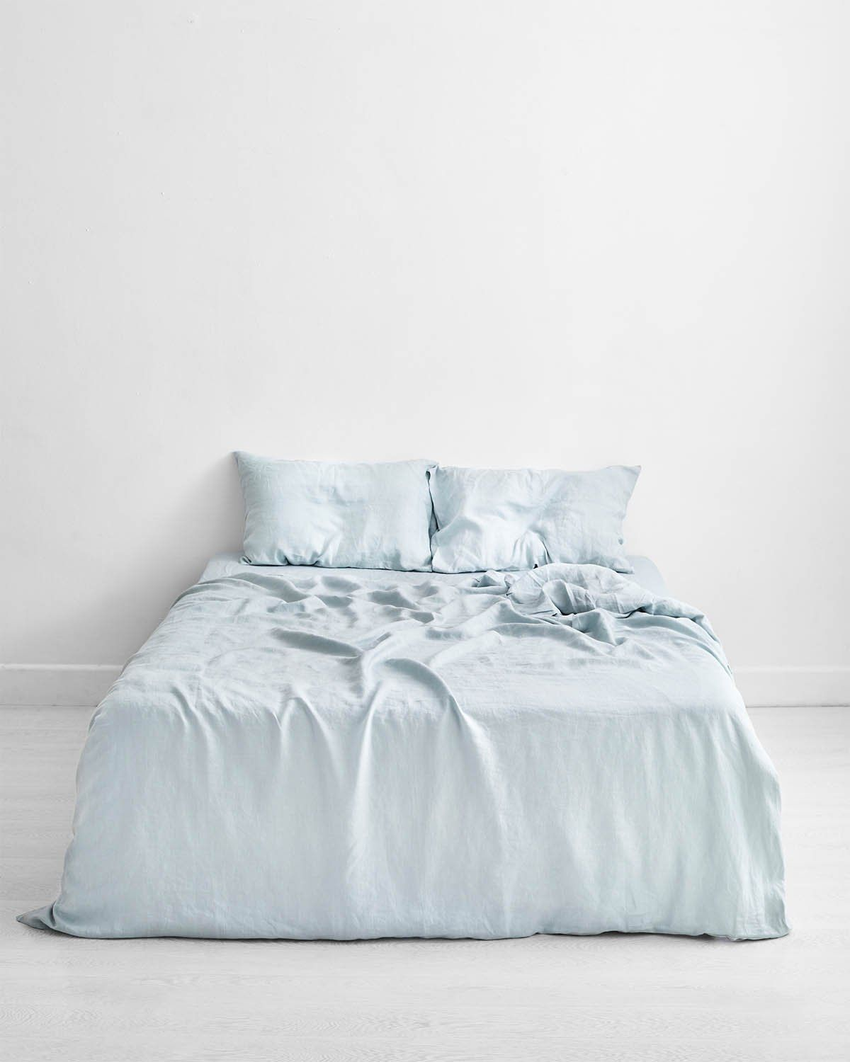 Drift 100 Flax Linen Pillowcases Set Of Two In 2020 Bed Linen Design Bed Linen Sets White Linen Bedding