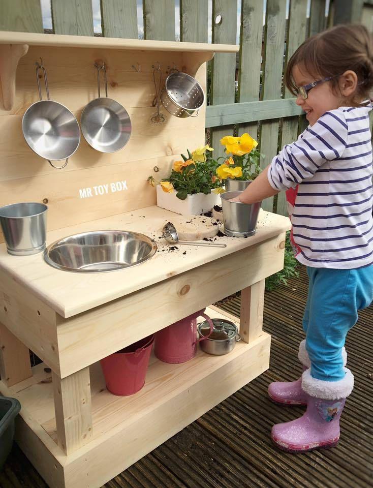 Grab them now! Mud Kitchen - Outdoor Wooden Furniture, Kids Furniture, Childrens Furniture, Play Kitchen, Sensory Ki... https://www.etsy.com/listing/522400857/mud-kitchen-outdoor-wooden-furniture?utm_campaign=crowdfire&utm_content=crowdfire&utm_medium=social&utm_source=pinterest