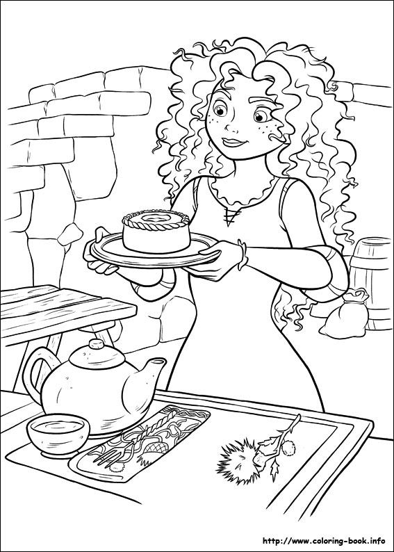 Brave Movie Coloring Pages