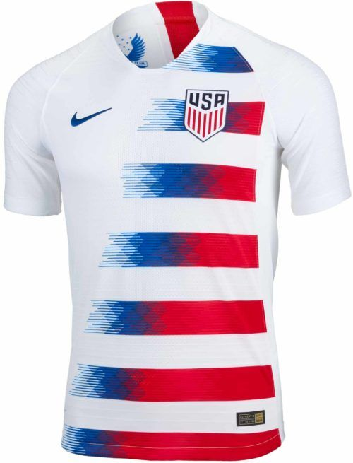 2018 19 Nike USA Home Match Jersey. Buy one from www.soccerpro.com 4ec7bcb4c43