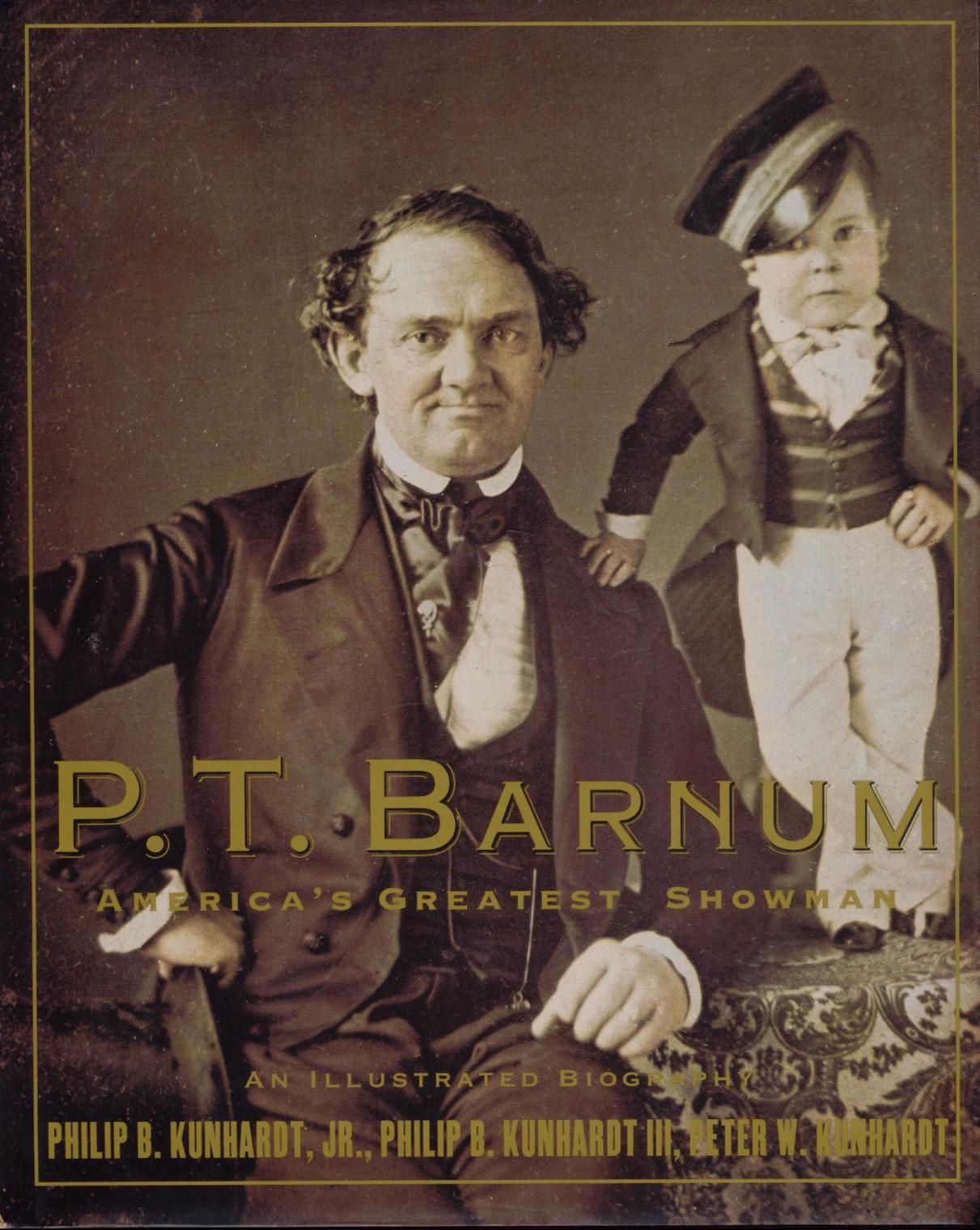 PT BARNUM the genius creator and promoter of the Barnum