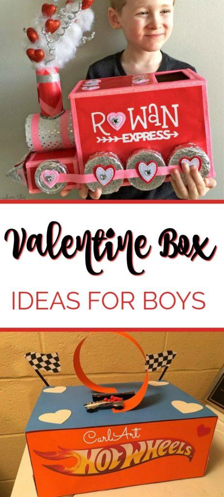 Easy and Creative Valentine Box Ideas for Boys - Mom vs the Boys