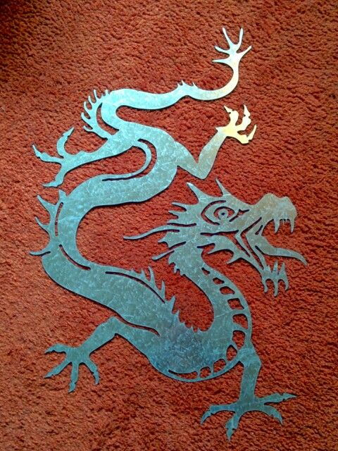Dragon Autocad N C Plasma Cut Plasma Cuts Metal Art