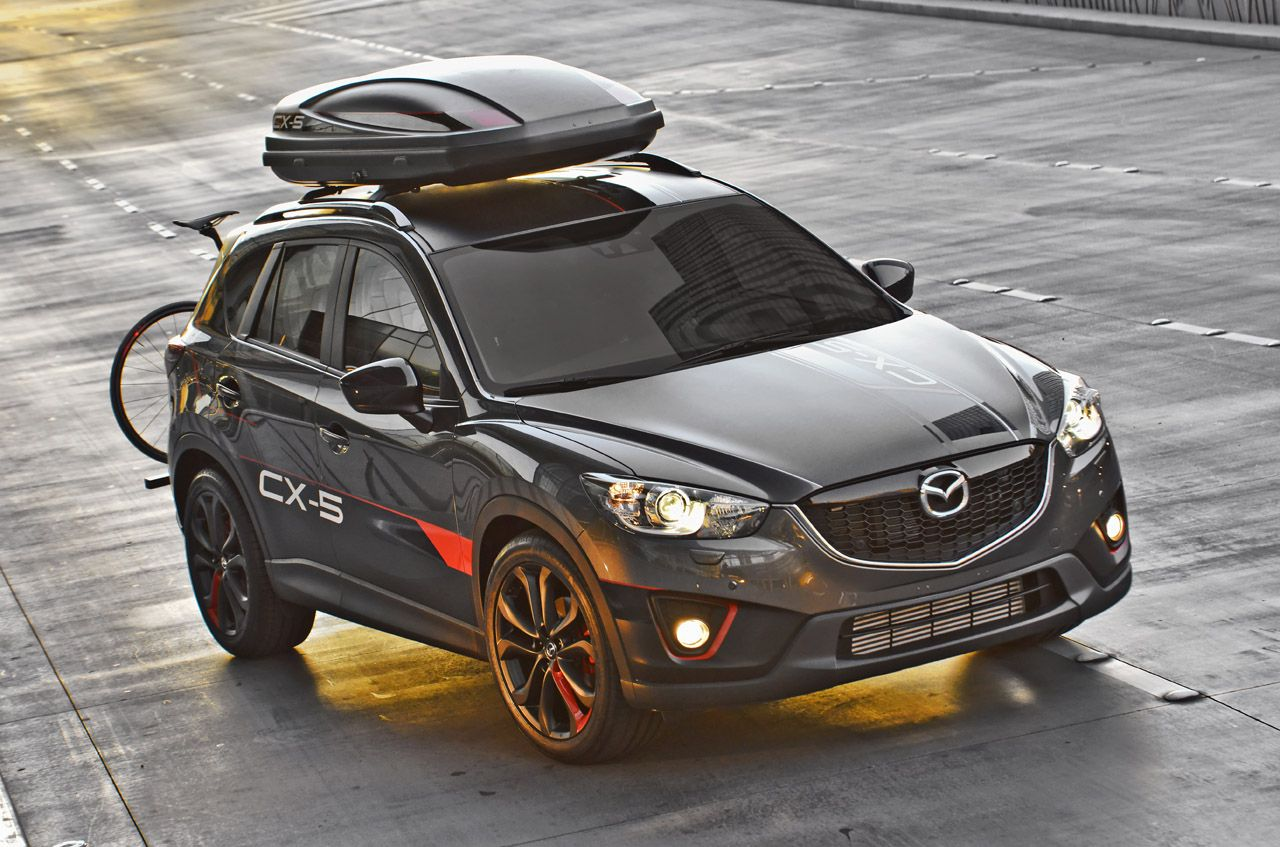 Mazda brings trio of trickedout CX5s to Vegas Mazda