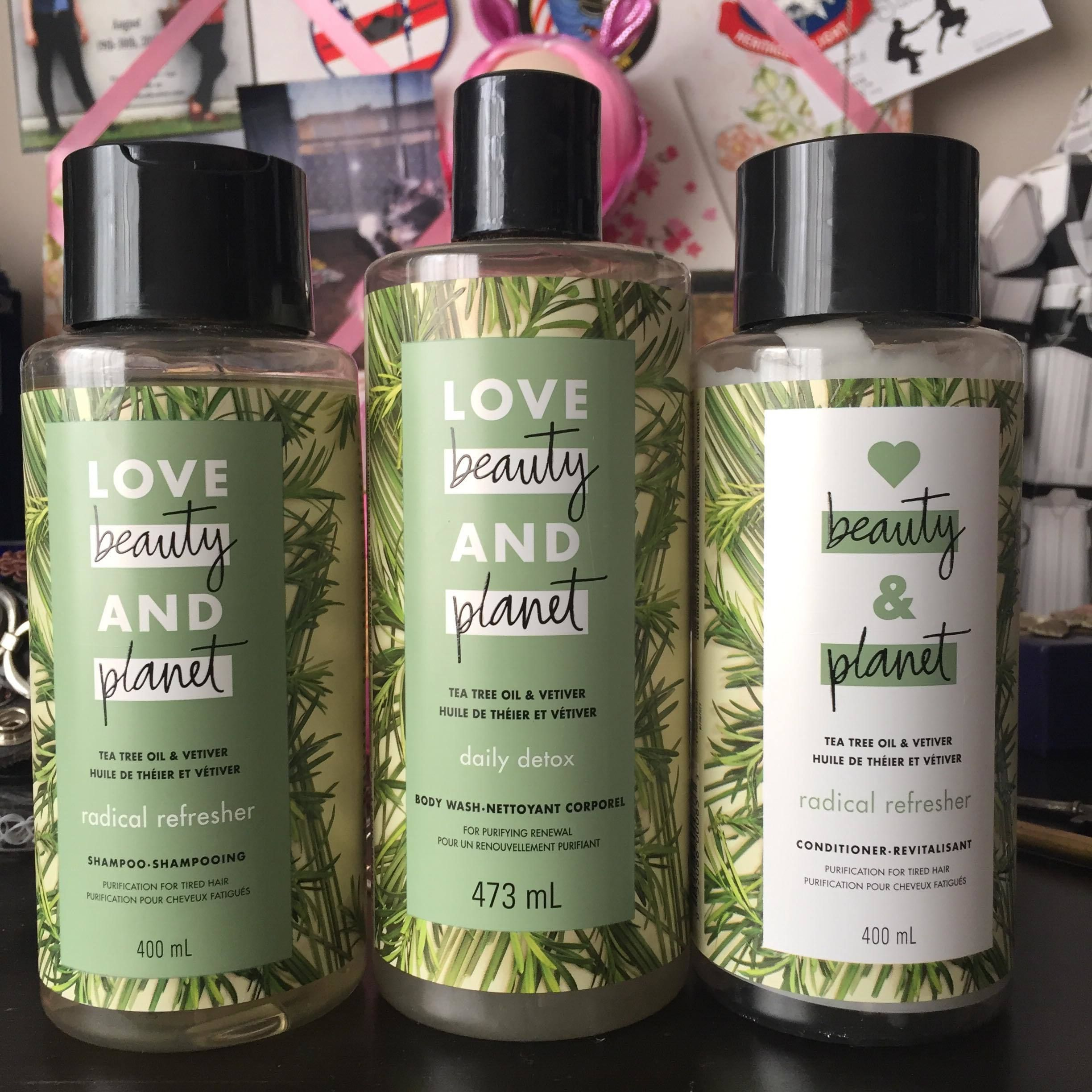 Love Beauty Planet Tea Tree Oil Vetiver Radical Refresher