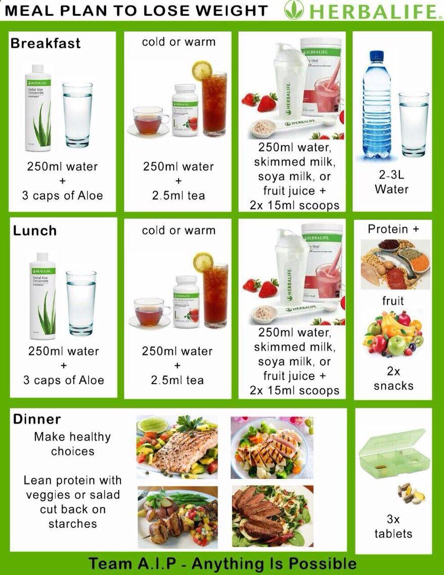 Herbalife meal plan | herbalife | Pinterest | Herbalife meal plan ...
