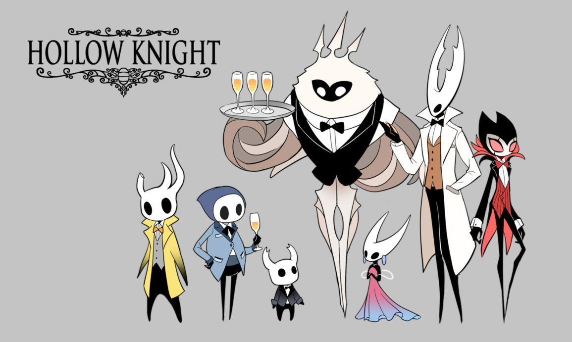 Hm Yes Grimm In A Suit Is Very Good Knight Hollow Art Knight Games