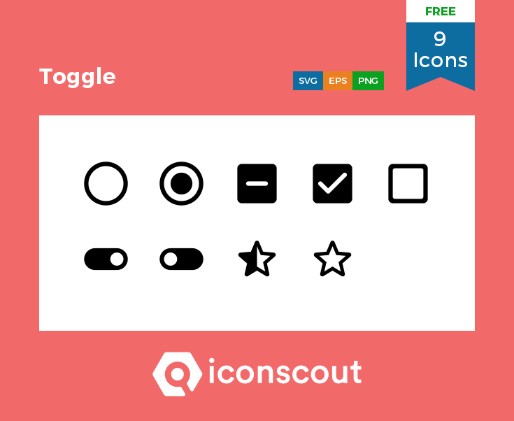 Download Download Toggle Icon pack - Available in SVG, PNG, EPS, AI ...
