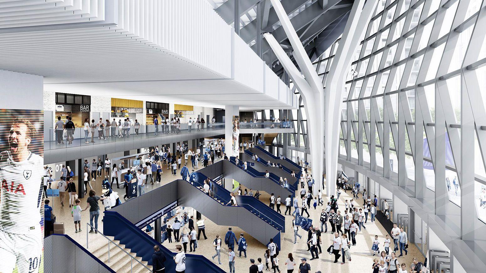 London New White Hart Lane 61 559 Page 2309 Skyscrapercity Stadium Architecture Tottenham Hotspur Stadium