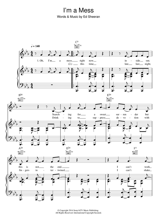 Harmonica u00bb Harmonica Tabs Ed Sheeran - Music Sheets, Tablature, Chords and Lyrics