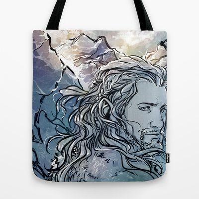 The Hobbit - Fili Tote Bag by lorna-ka - $22.00