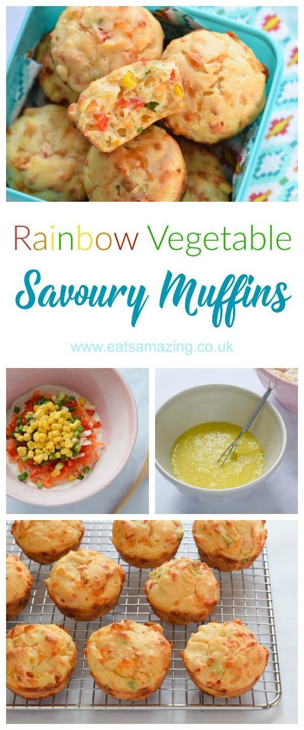 Easy rainbow vegetable savoury muffins recipe fun and healthy kid easy rainbow vegetable savoury muffins recipe fun and healthy kid friendly picnic food idea from forumfinder Choice Image