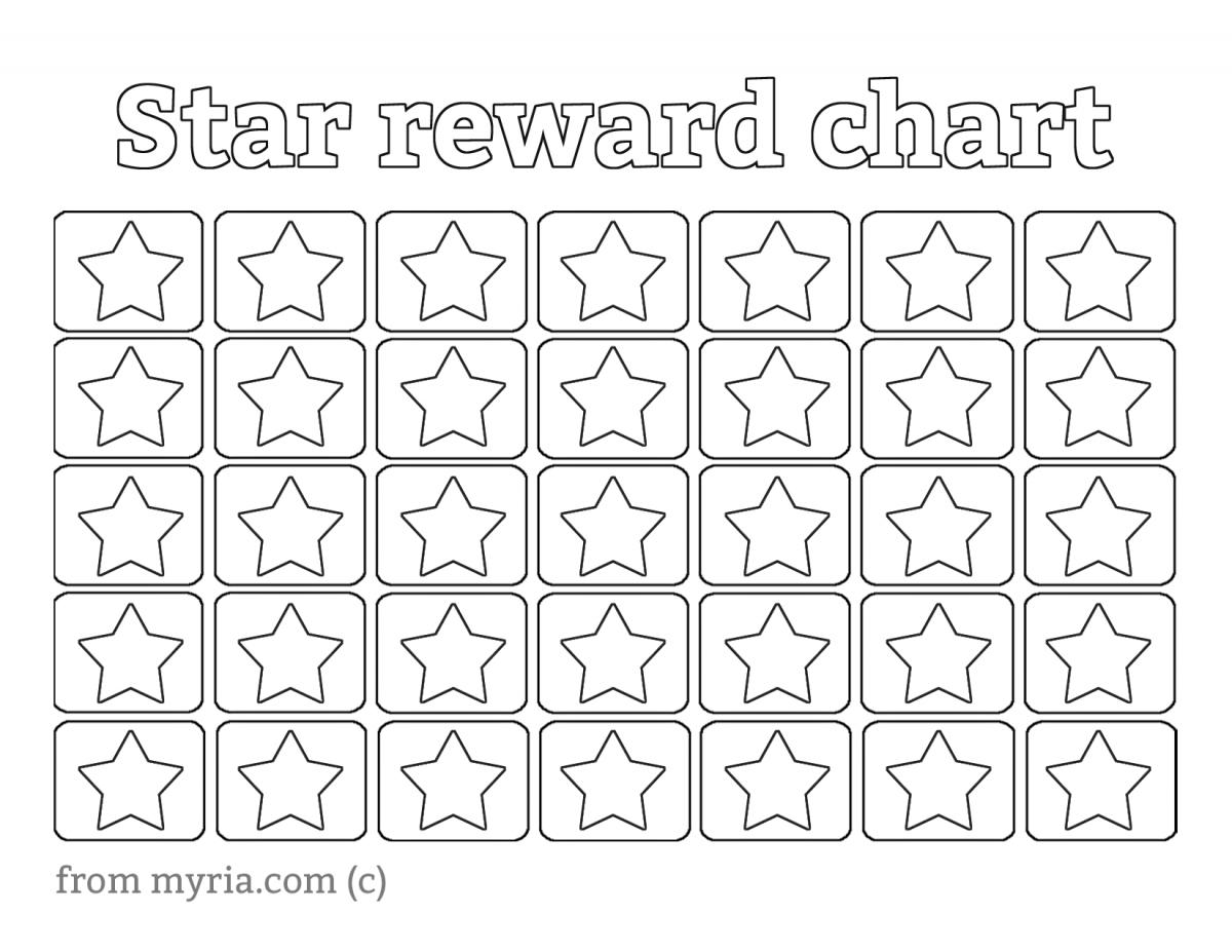 printable star
