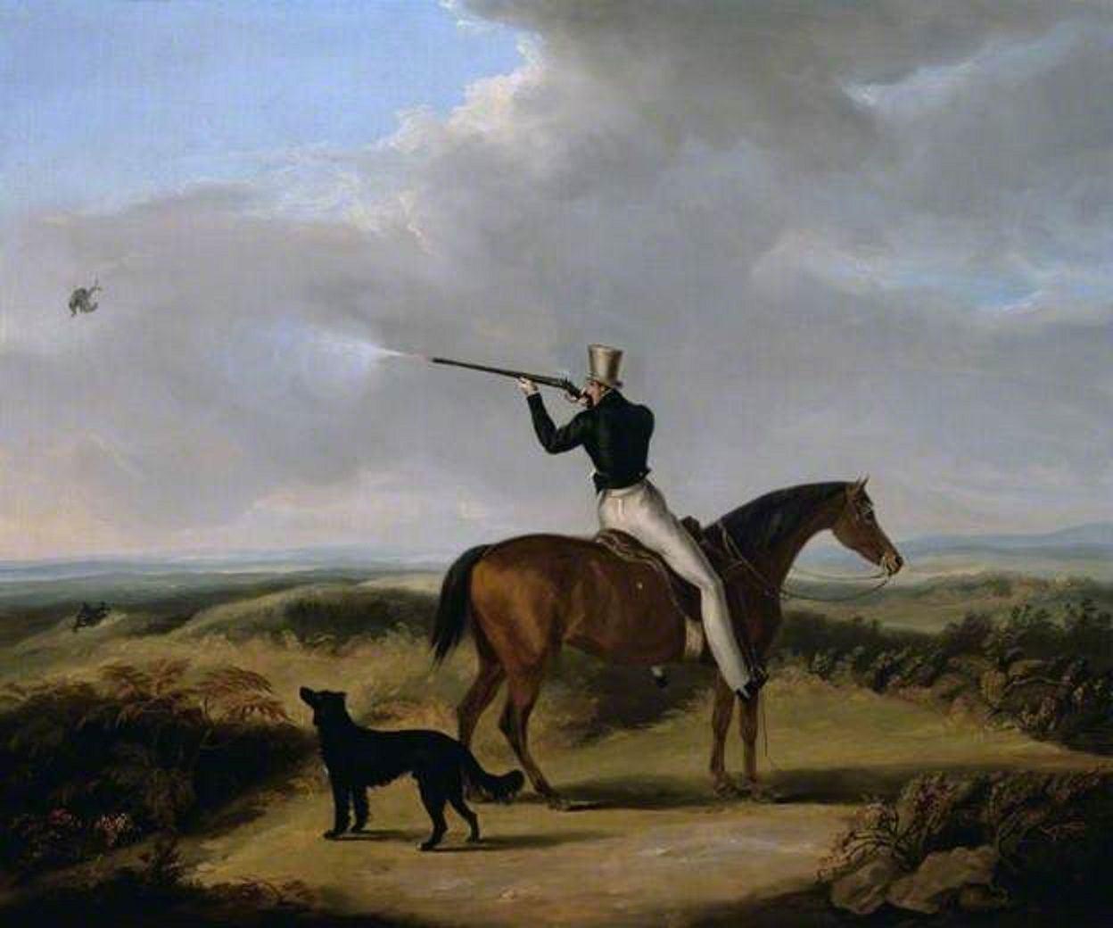Sir Henry William Paget, 1st Marquess of Anglesey Shooting