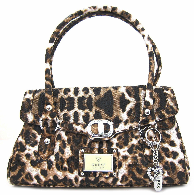 Guess Women S Veracruz Satchel Cheetah Handbag Handbags Purses And Animal Print Fashion