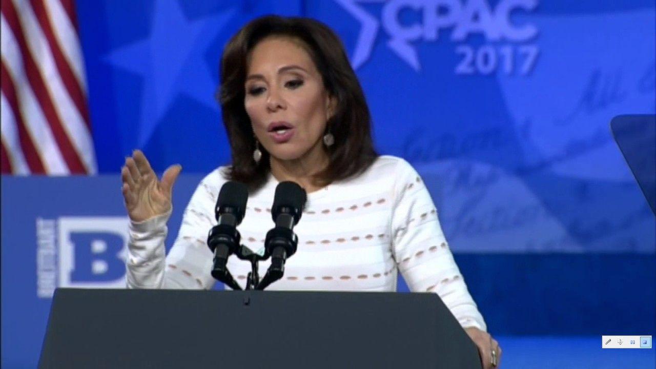 Judge Jeanine Pirro! Sanctuary Cities! CPAC! Full Speech!