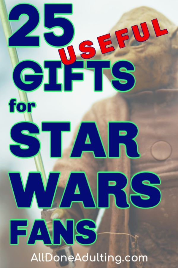 25 Unique and Useful Gifts for Star Wars Lovers in 2020 ...