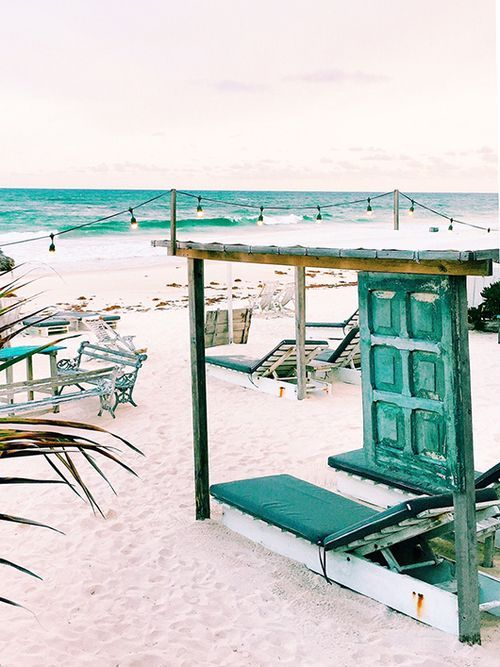 Your Guide To Tulum, Mexico — Bloglovin'—the Edit