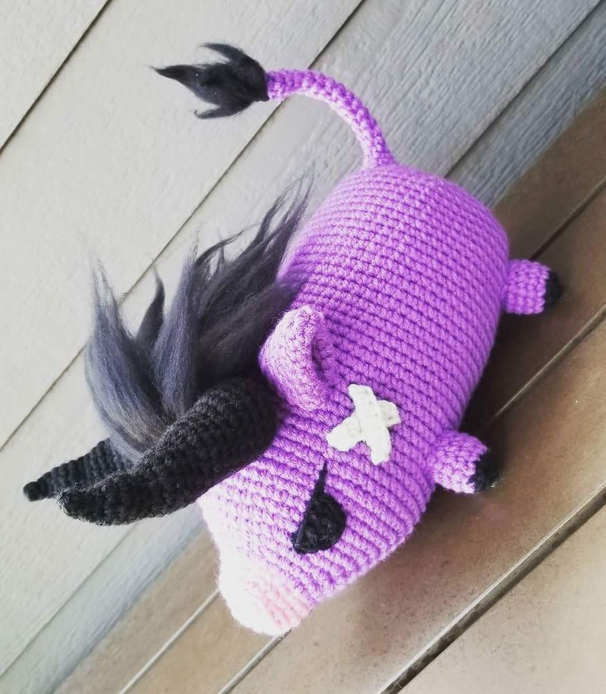 I did a Poogie from Monster Hunter World. :) : Amigurumi | 1000x874