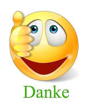 Smiley vielen dank bilder Dank Emojis